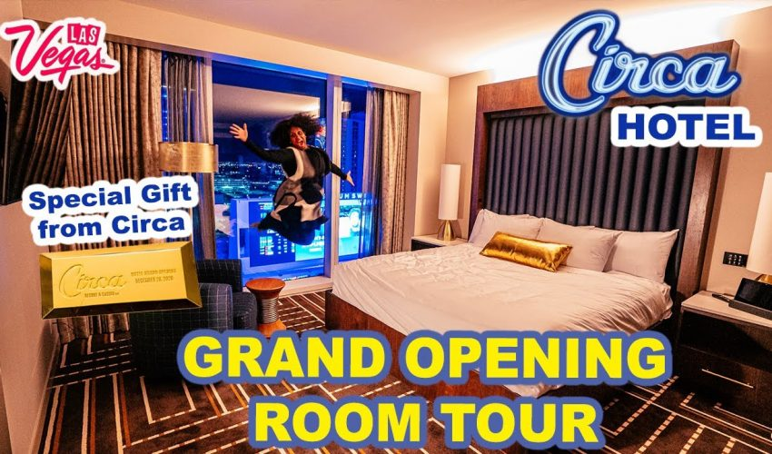 CIRCA Las Vegas Hotel GRAND OPENING | Inside the NEW BEST HOTEL in Downtown Vegas