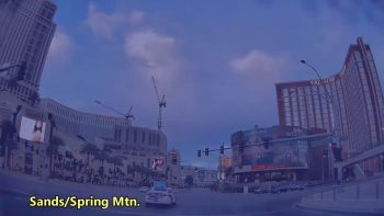 Parallel time travel video, showing Las Vegas in 1988 and 2019